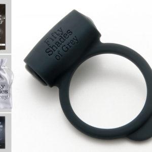 Fifty Shades og Grey Yours and Mine - vibrační kroužek na penis