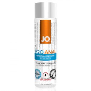 JO H2O Anal Warming - anální lubrikant s hřejivým účinkem (120ml)