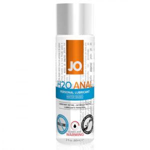 JO H2O Anal Warming - hřejivý anální lubrikant na bázi vody (60ml)