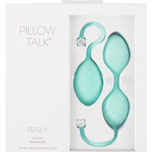 Pillow Talk Frisky - 2 Piece Geisha Ball (Turquoise)