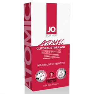 System JO Clitoral Stimulant Warming Atomic - stimulační gel na klitoris pro ženy (10ml)