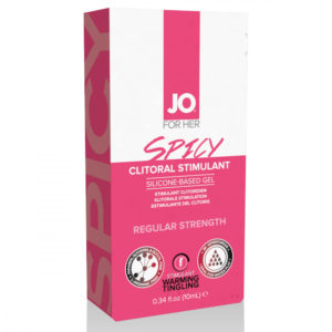 System JO Clitoral Stimulant Warming Spicy - stimulační gel na klitoris pro ženy (10ml)