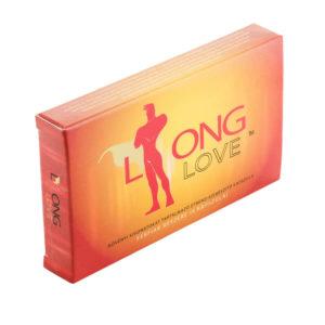 Long Love - výživový doplněk pro muže na oddálení ejakulace (4ks)